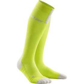 cep Run Socks 3.0 Uomo, lime/light grey